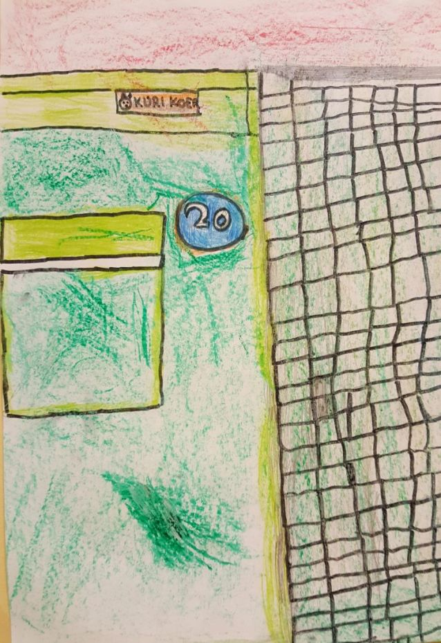 """Chrystal märkas Lõokese tänaval väikest hoiatusmärki """"Kuri koer"""""""
