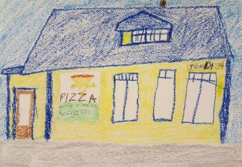 Kati märkas Tondi tänaval kollast pizzamaja.